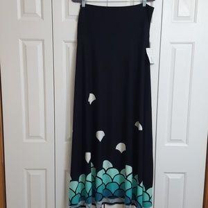 caea4b5824 LuLaRoe Skirts | Maxi Skirt Xl Mermaid Scales Nwt | Poshmark